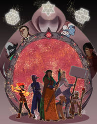 Dungeons and Dragons: Wiles of Waterdeep by LizDoodlez