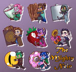 Critical Role: The Mighty Nein Chibi