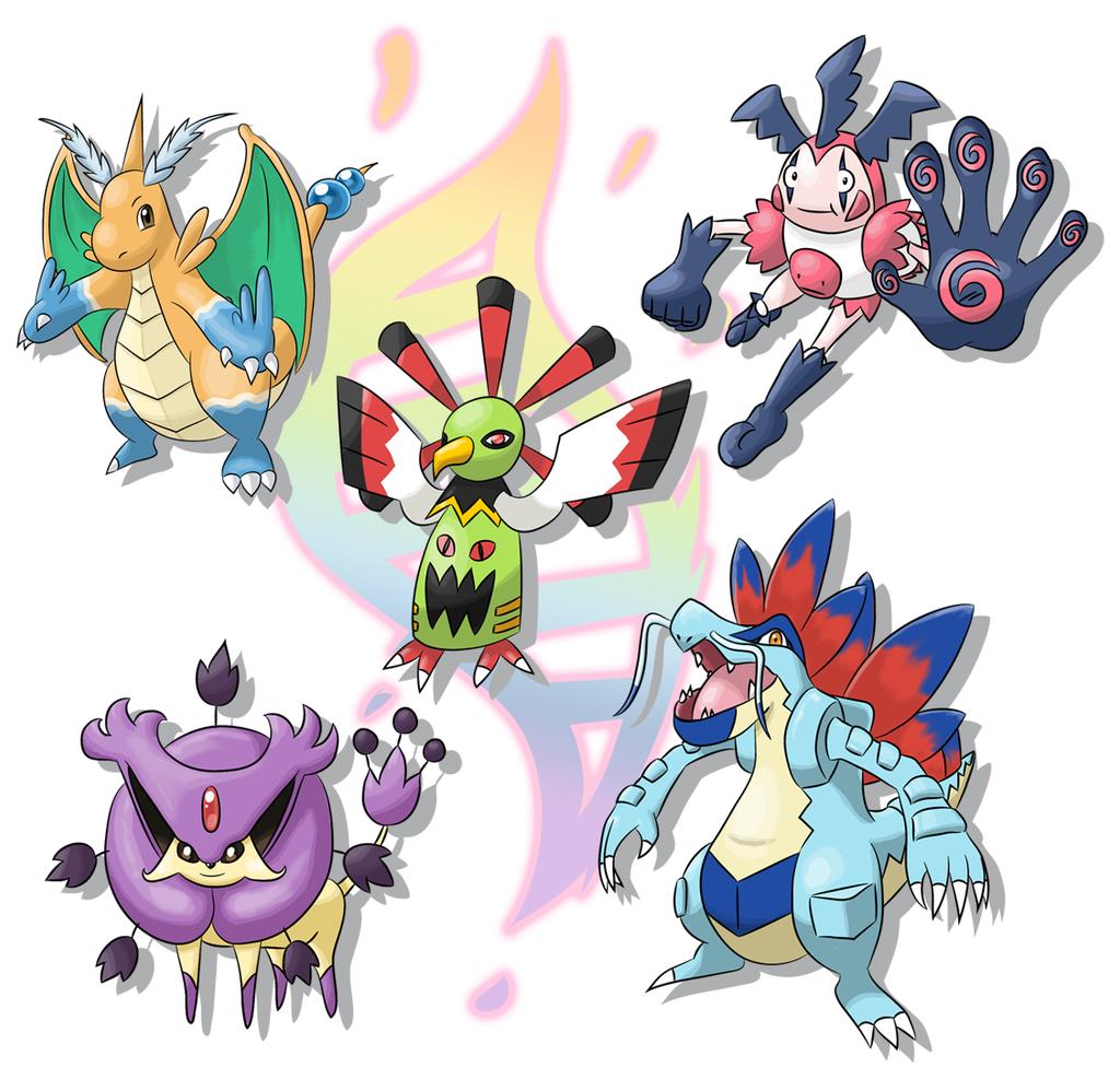 mega evolutions by Xyrten