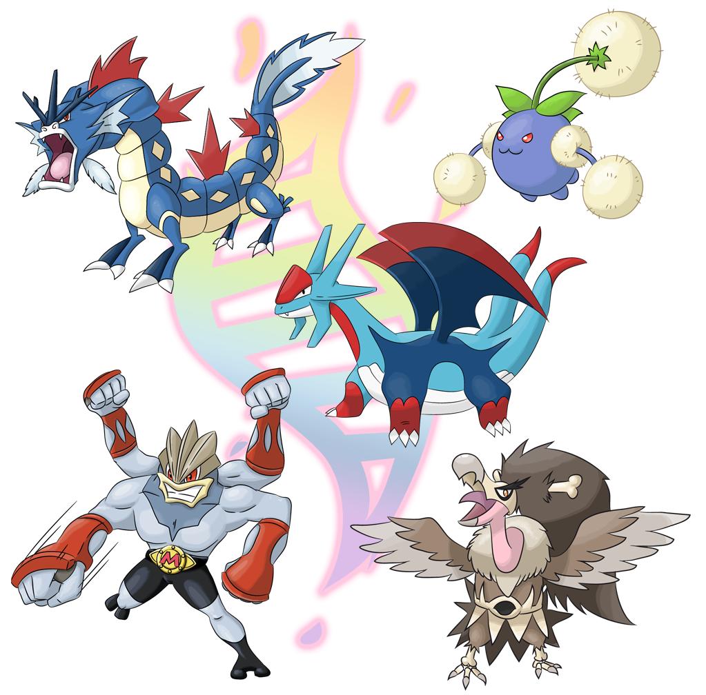 More Mega Evolutions By Xyrten On Deviantart