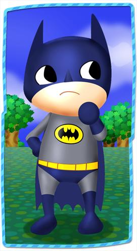 Batman Crossing by Xyrten