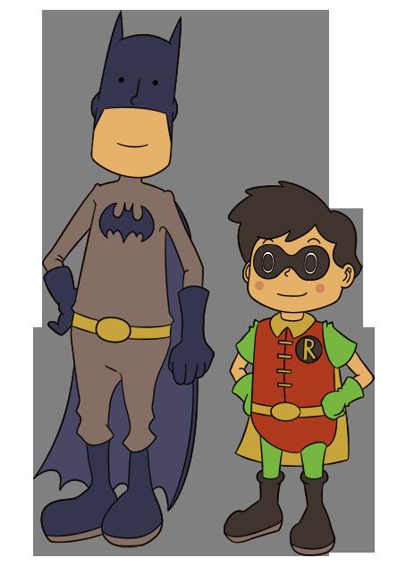 Professor Batman by Xyrten