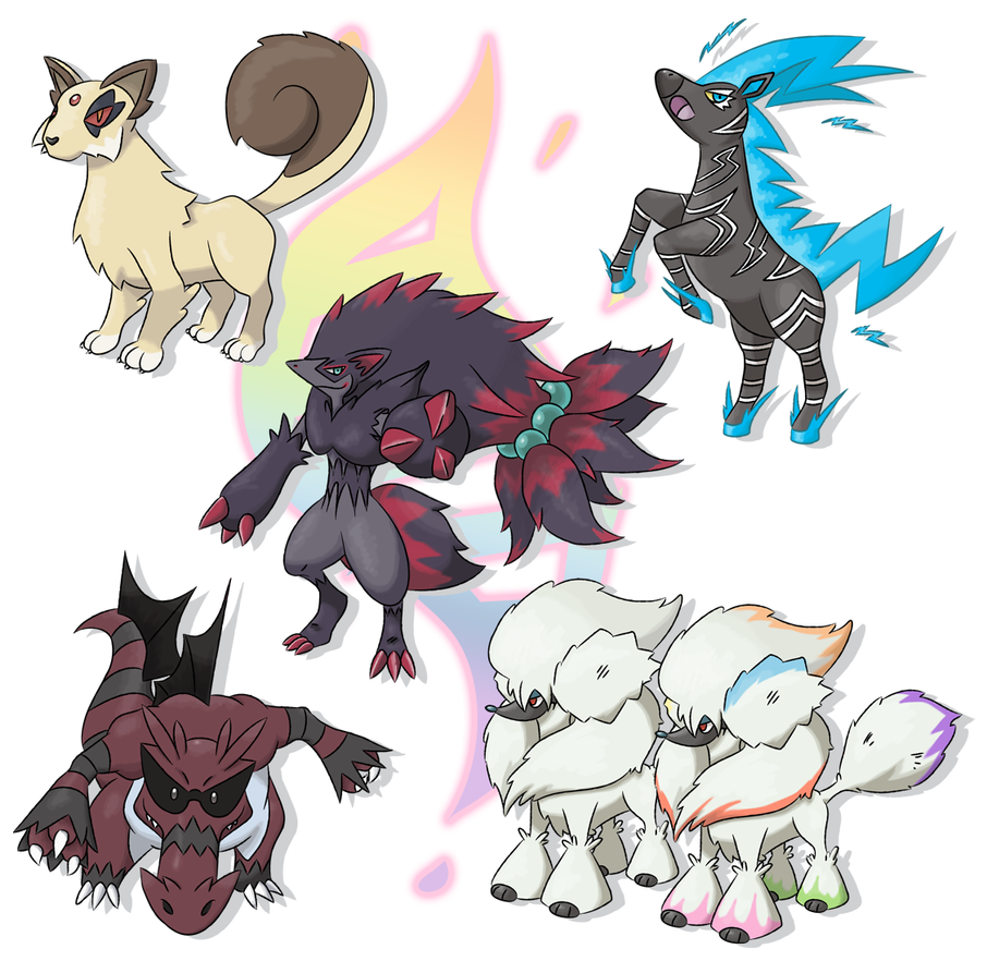 Mega evolutions group no 4 by xyrten on deviantart - Mega evoulution ...