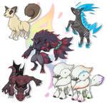 Mega evolutions - group no. 4