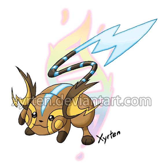 Day 313 mega raichu by xyrten on deviantart - Pokemon x raichu mega evolution ...