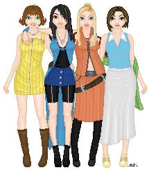 Doll - Final Fantasy VIII Girls by djsoblivion1990