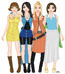 Doll - Final Fantasy VIII Girls by djsoblivion1990