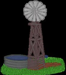Pixel Art - Windmill