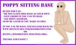 Base - Poppy Sitting by djsoblivion1990