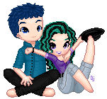 Doll - OC - Nathan and Natasha