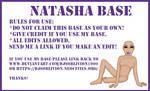 Base - Natasha Sitting by djsoblivion1990