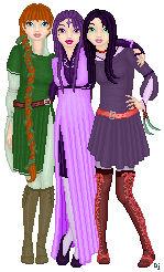 Doll - OC - Didrianna and Allana and Aiasha