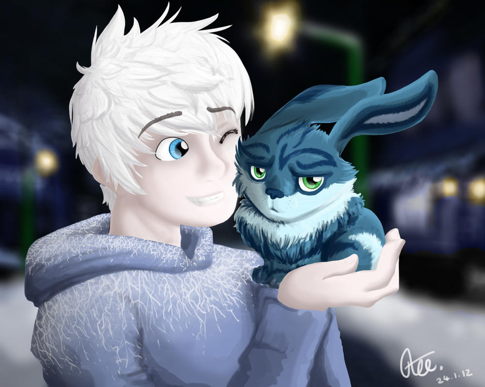 Jack Frost And Easter Bunny By Mischakins