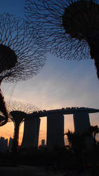 Marina Bay Sands by kate-takako