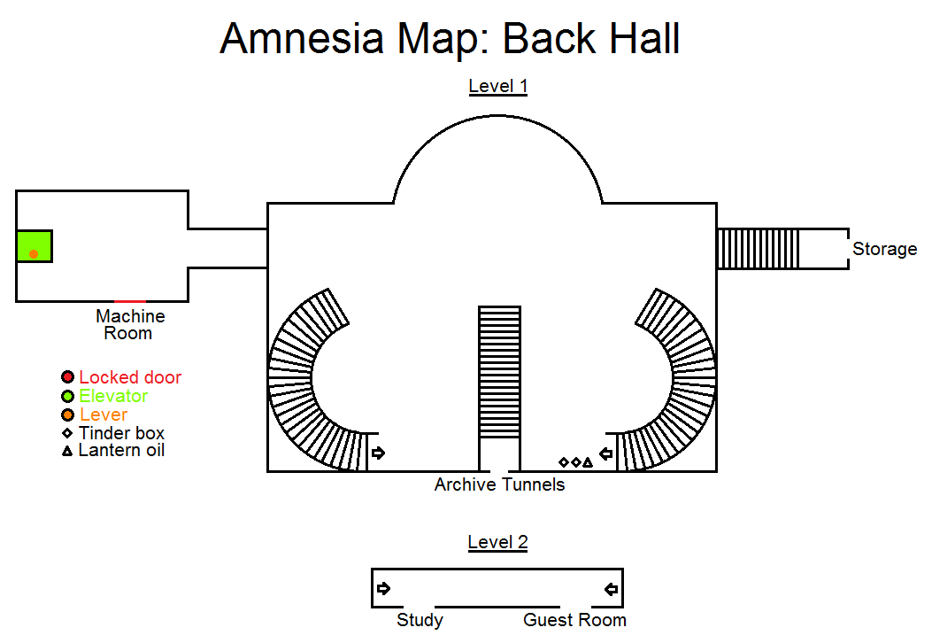 Amnesia Map Back Hall By Hidethedecay On Deviantart