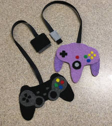 Playstation 2 and N64 Controller Bookmarks