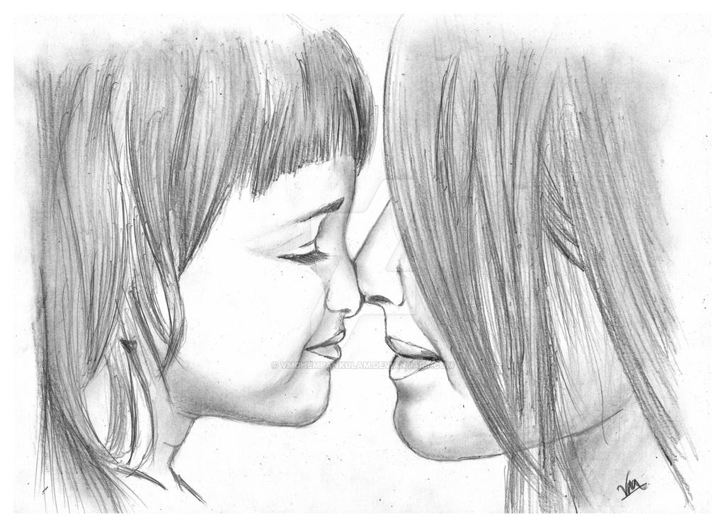 Pencil Drawing Art Love