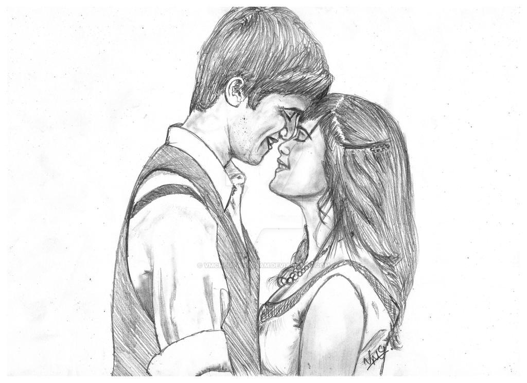 Couple Love Sketch by VMChempankulam on DeviantArt