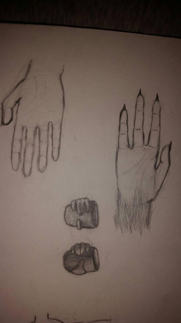 I CAN DRAW HANDS by DerpyGirl1Cookie
