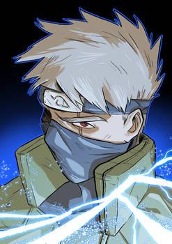 Kakashi, from Naruto