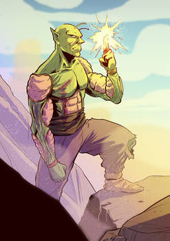 Piccolo, from DragonBall
