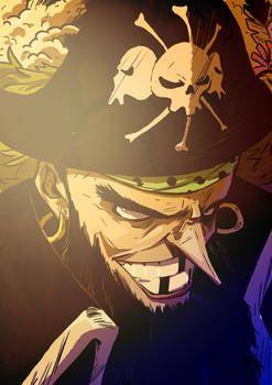 Marshall D. Teach, BlackBeard, from One Piece