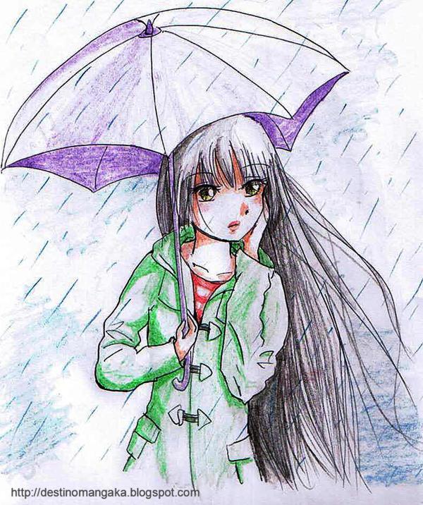 rain by yuacat