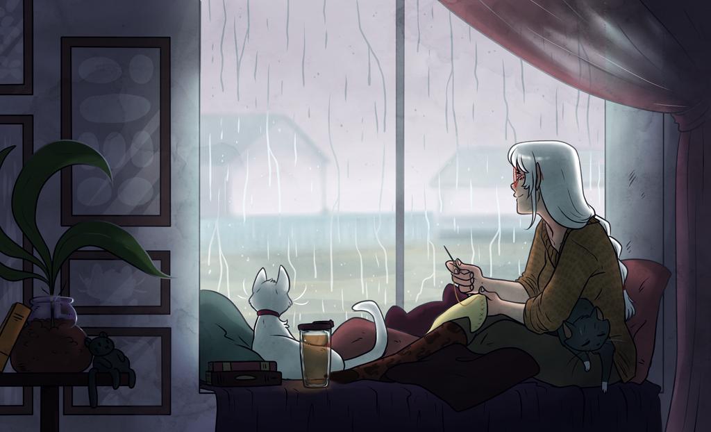 Rainy Days by Kikiine