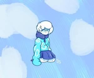 Weather Girl again by DaviScarf