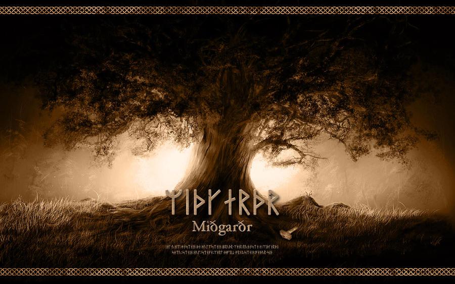 Midgard - Yggdrasil - Wallpaper