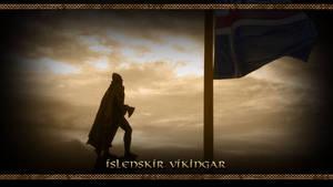 Islenskir Vikingar - Wallpaper