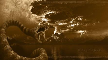 Ragnarok - Wallpaper by PlaysWithWolves