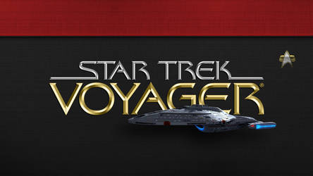 Star Trek: Voyager - Wallpaper 3 by PlaysWithWolves