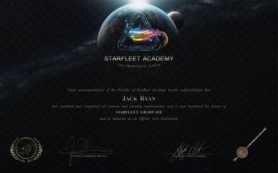 Starfleet Academy Diploma