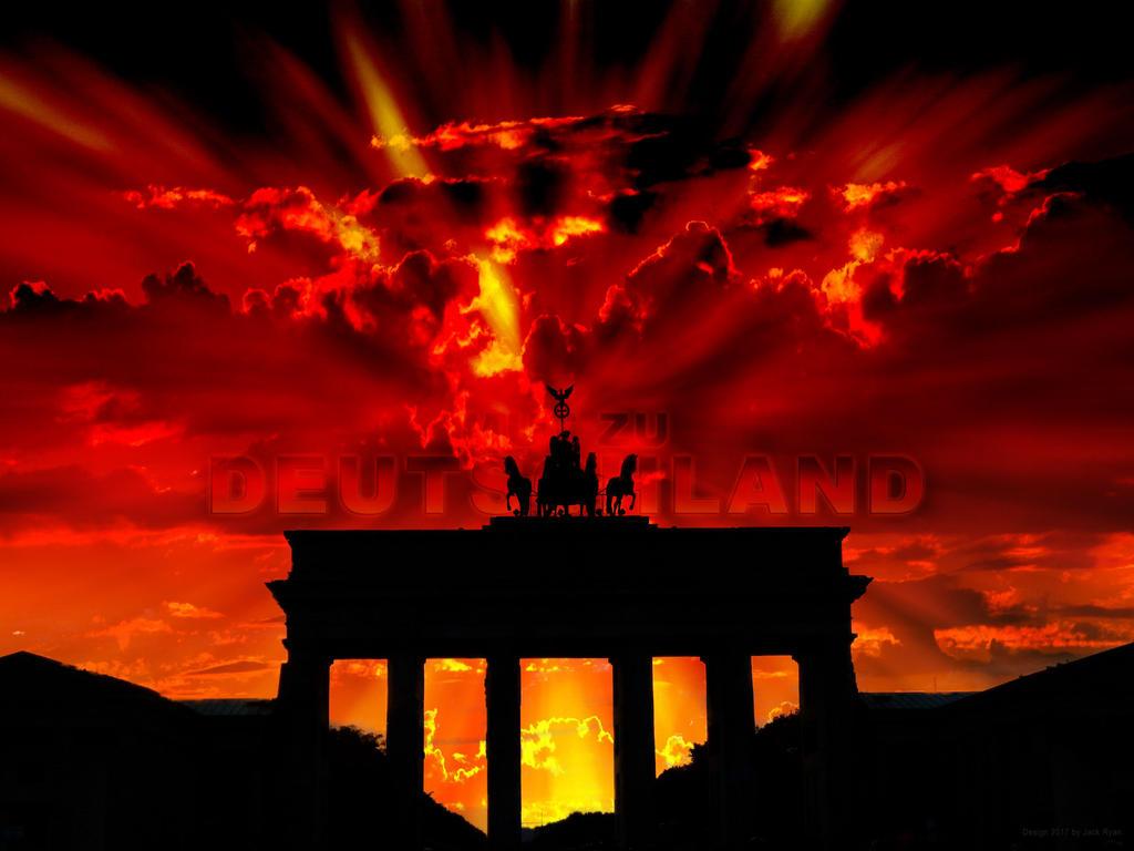 Mut zu Deutschland / Courage to Germany by PlaysWithWolves