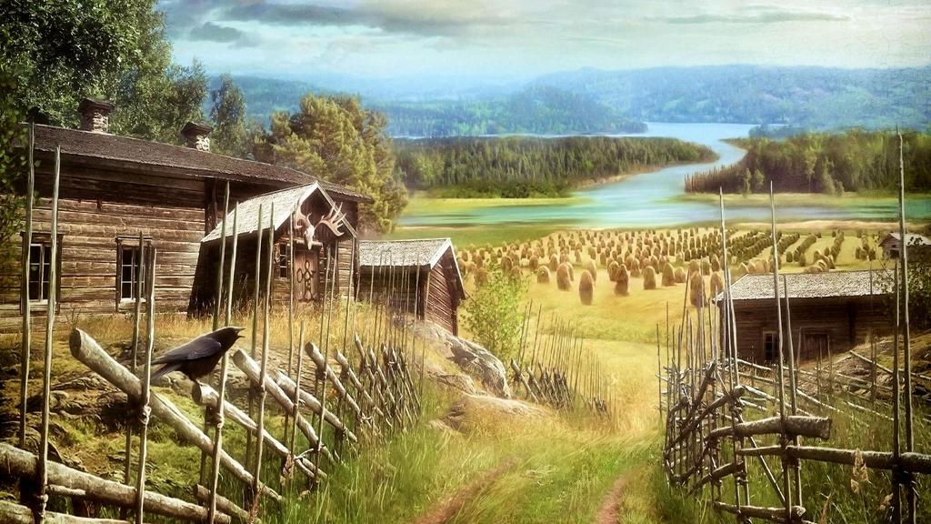 Korpiklaani - Kulkija - Wallpaper 4K by PlaysWithWolves