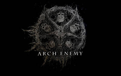 Arch Enemy - Baphomet Wallpaper WHXGA