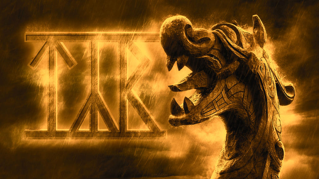 TYR - Dragonhead-Wallpaper-4K by PlaysWithWolves