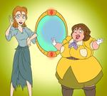 COMM: The Mystic Mirror of Opar by saturnxart