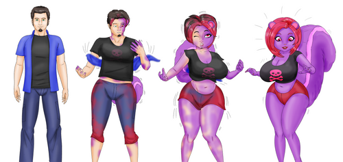 COMM: From a Guy to Ayumi by saturnxart