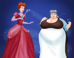 COMM: Princess Tremaine and her Elderly Maid