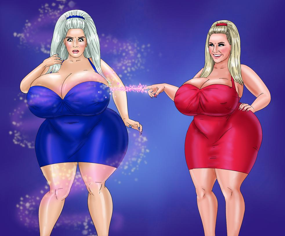 COMM: Bimbo Sabrina and Bimbo Sabrina by saturnxart