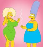 CM: Selma and Marge Lifeswap