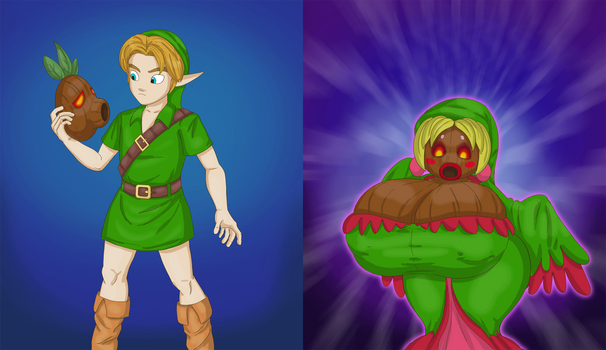 CM: Link, the Deku princess