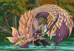 Mizutsune VS Hunter by RagnarokeMD