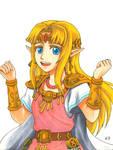 Princess Zelda (ALBW/SSBU)