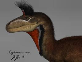 Cryolophosaurus ellioti by pangalliformes