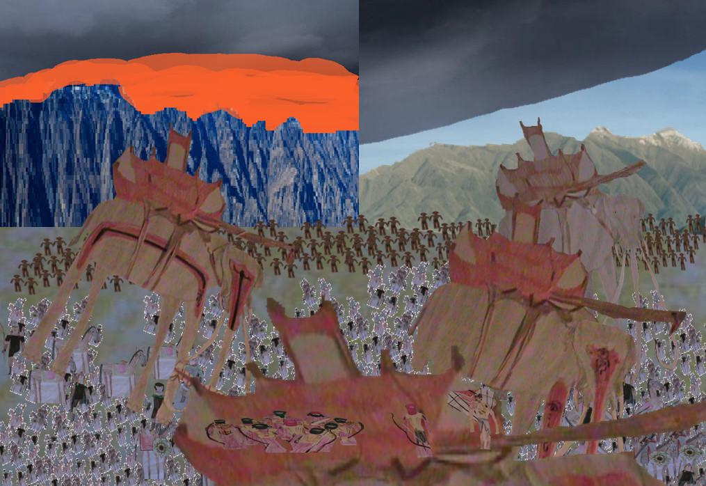 The Battle of Pelennor Fields by movieman410