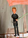 Mark Hamill as Luke Skywalker Jedi Knight by movieman410