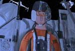 Denis Lawson as Wedge Antilles by movieman410